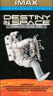 Destiny in Space VHS