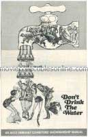 Don't Drink The Water Press Book