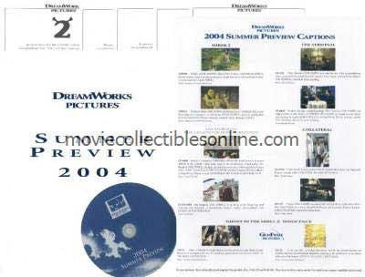 DreamWorks Summer 2004 Press Kit